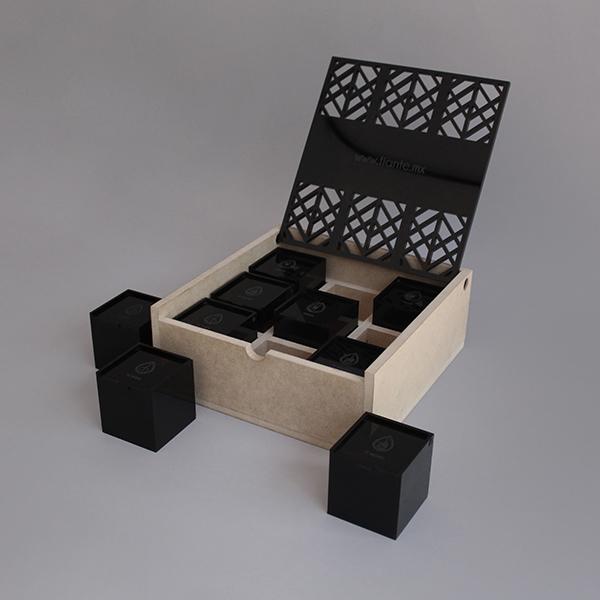 Caja Tian Té