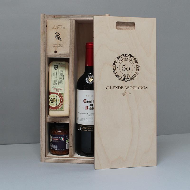 Caja Botella Gourmet