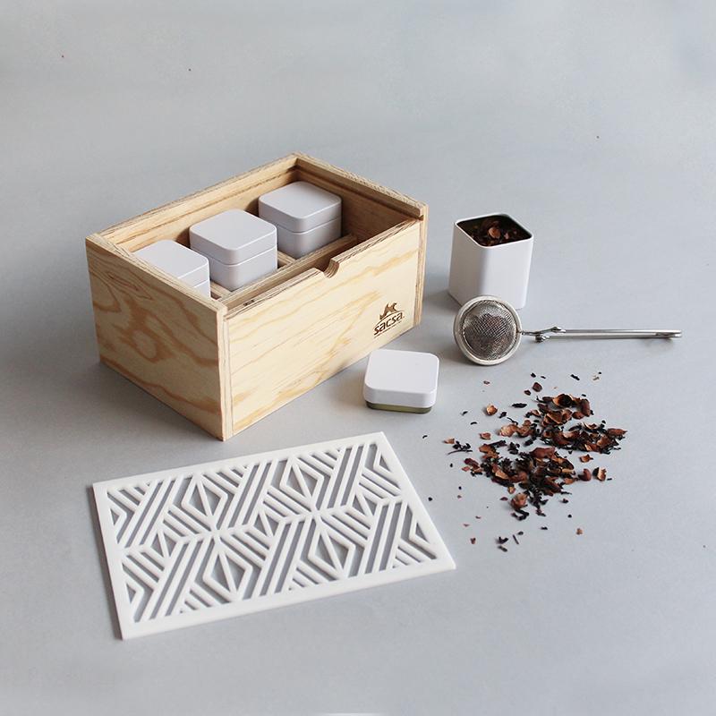 Caja Kit de Té SACSA