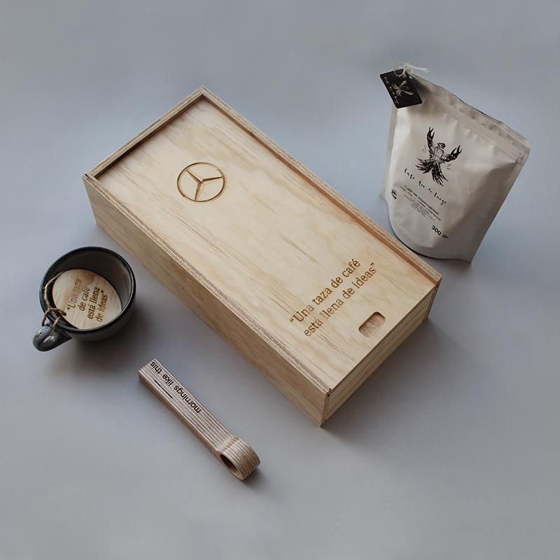 Caja Kit Café Mercedes Benz