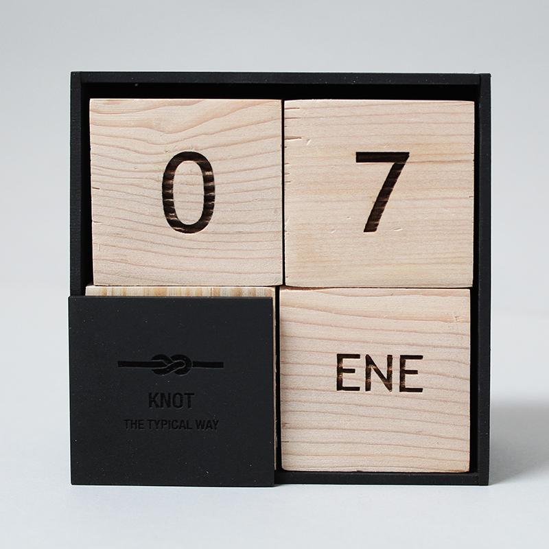 Calendario Cubos